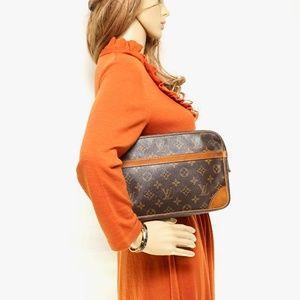 Auth Louis Vuitton Clutch Compiegne 28 #2438L89